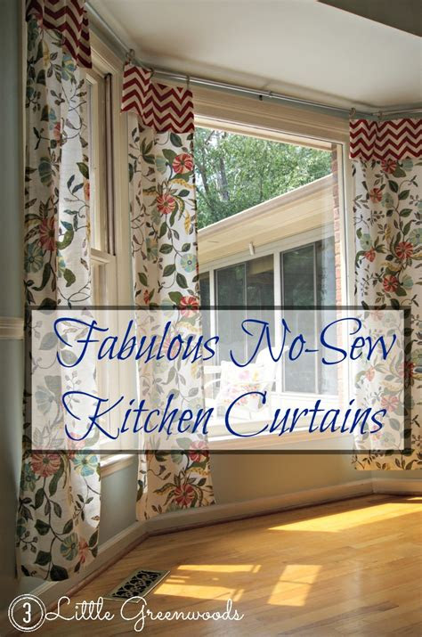 sew kitchen curtains  tablecloths