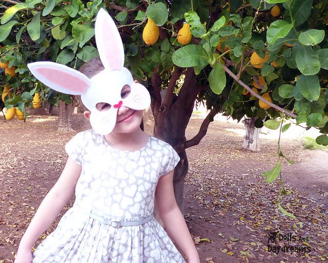 Bunny Rabbit Mask Sewing Pattern
