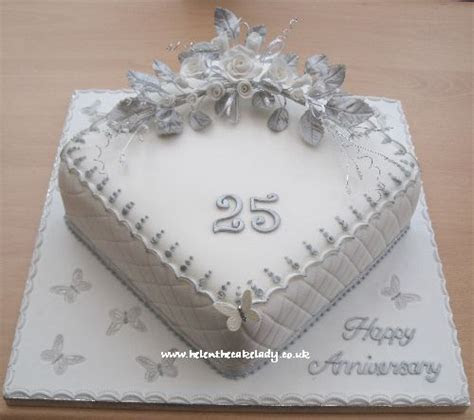 Silver wedding anniversary cake 25th in 2019   Specialty