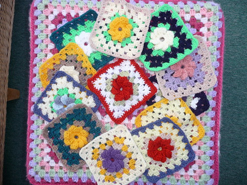 They are so pretty too, a great selection of Flower Squares!