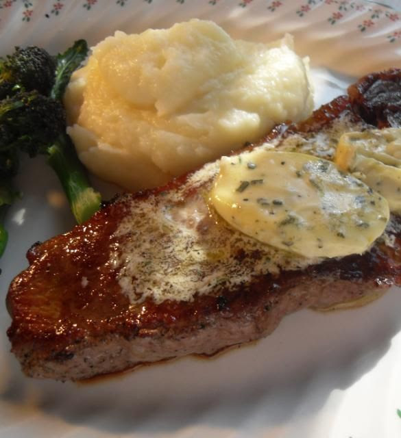 The English Kitchen Pan Grilled Steaks With Bearnaise