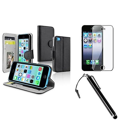 CHEAP Insten 1387988 3-Piece iPhone Case Bundle For Apple iPhone 5/5S/5C OFFER