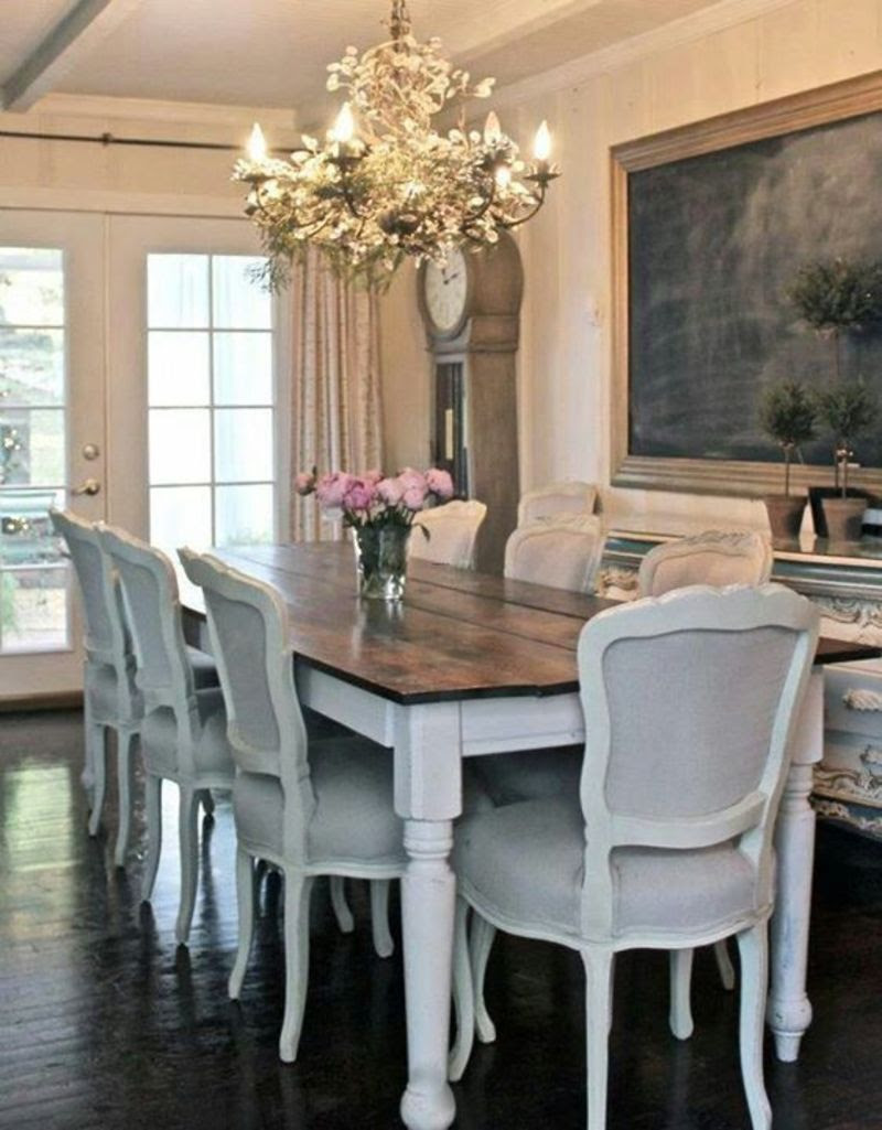 17 Best Ideas About Farmhouse Dining Tables On Pinterest ...