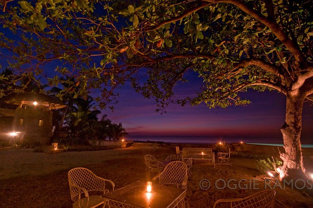 Sitio Remedios Outdoor Night Setting