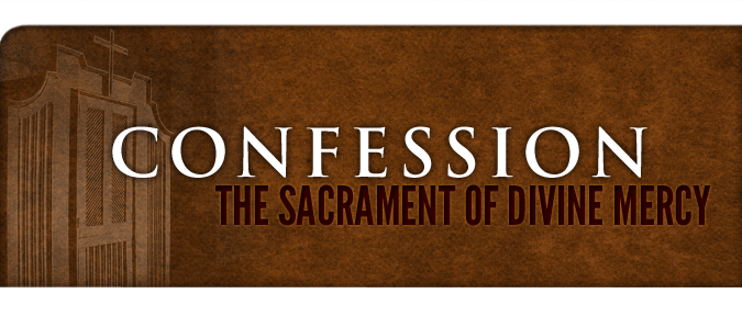 Confession Sacrament of Divine Mercy