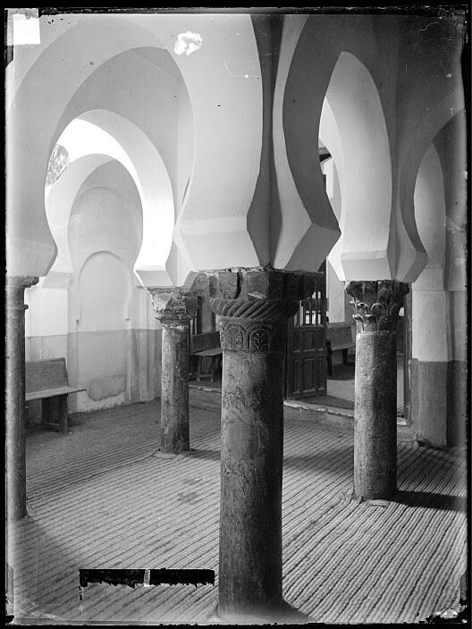 Mezquita del Cristo de la Luz en el siglo XIX. Fotografía de Casiano Alguacil. Ayuntamiento de Toledo