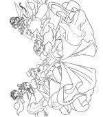 Coloriage Princesses Disney Gratuit A Imprimer