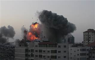 Buildings bombed by the Israeli Air Force in Gaza during November 2012. The IAF have killed numerous civilians and political officials. by Pan-African News Wire File Photos