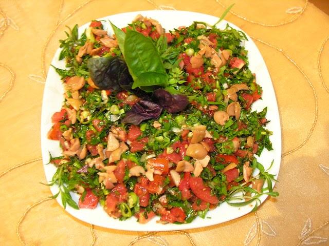 Zahter Salatası  1 (Hatay Mutfağı)
