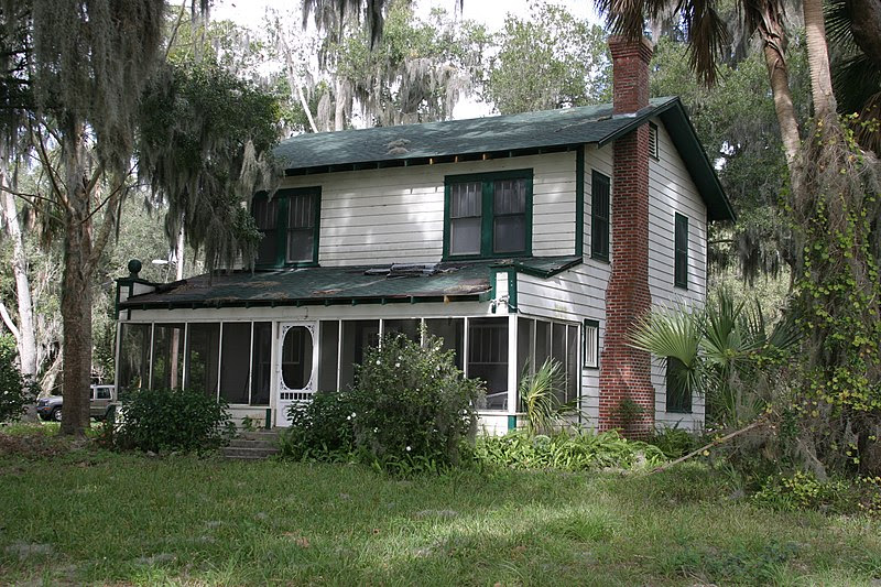File:Barker Cottage on Lake Weir in Florida.jpg