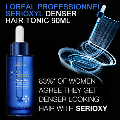 Buy 47% OFF! LOreal Professionnel SERIOXYL Denser Hair Tonic 90ml Hair Loss Solution Get Denser