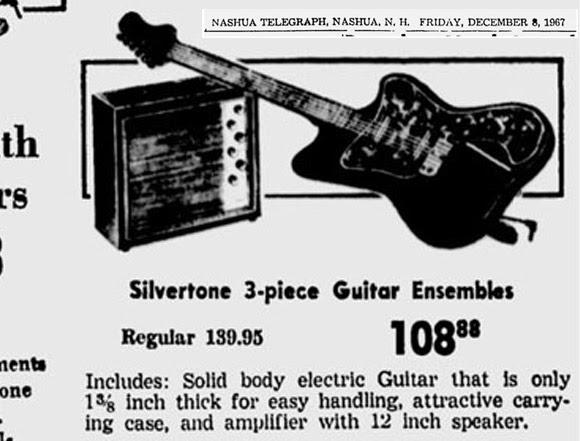 the unique guitar blog  1960 u2019s silvertone amplifiers