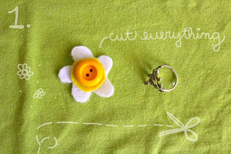 DIY daisy ring by monicutte