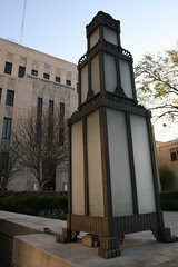 gregg county courthouse lamp