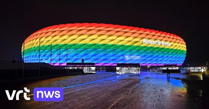 München wil stadion in regenboogkleuren tijdens wedstrijd Hongarije-Duitsland