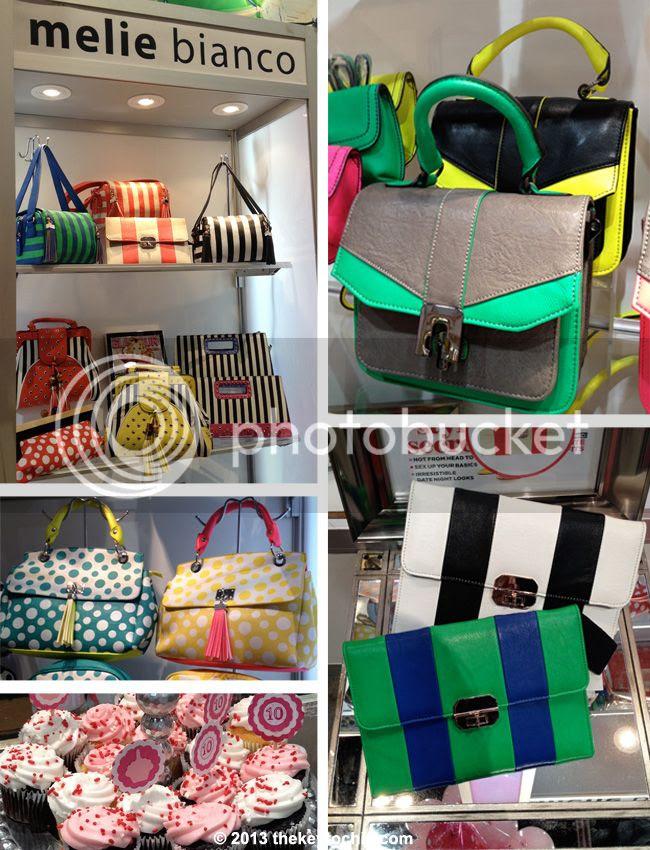 Melie Bianco printed handbags, Melie Bianco spring 2013 handbags