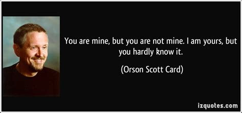 If You Are Not Mine Quotes