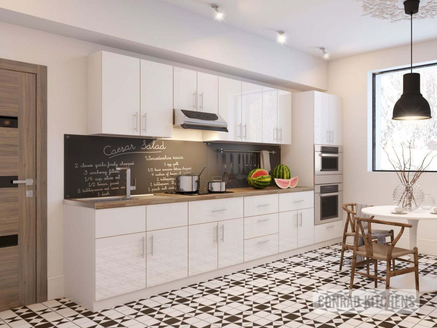 White Acrylic Kitchen Choose Kitchen Cabinets Online At Affordable Price