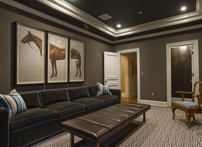 living space basement remodel 3