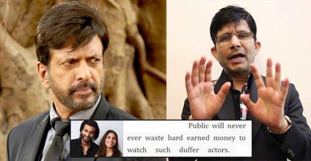 """Jaaved Jaaferi responds to KRK after he describes 'Malaal' stars Meezaan and Sharmin """"duffer actors"""""""