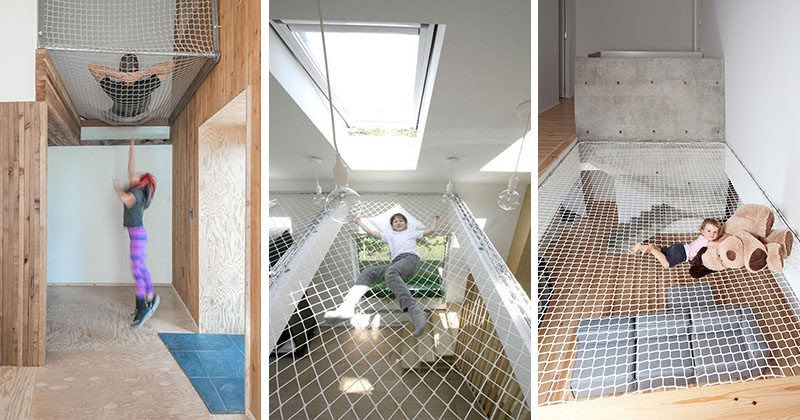 ion architecture news these 10 homes and offices have suspended nets to hang out in. Black Bedroom Furniture Sets. Home Design Ideas