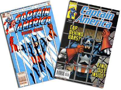 Captain America v. 1 #260 and v. 3 #23