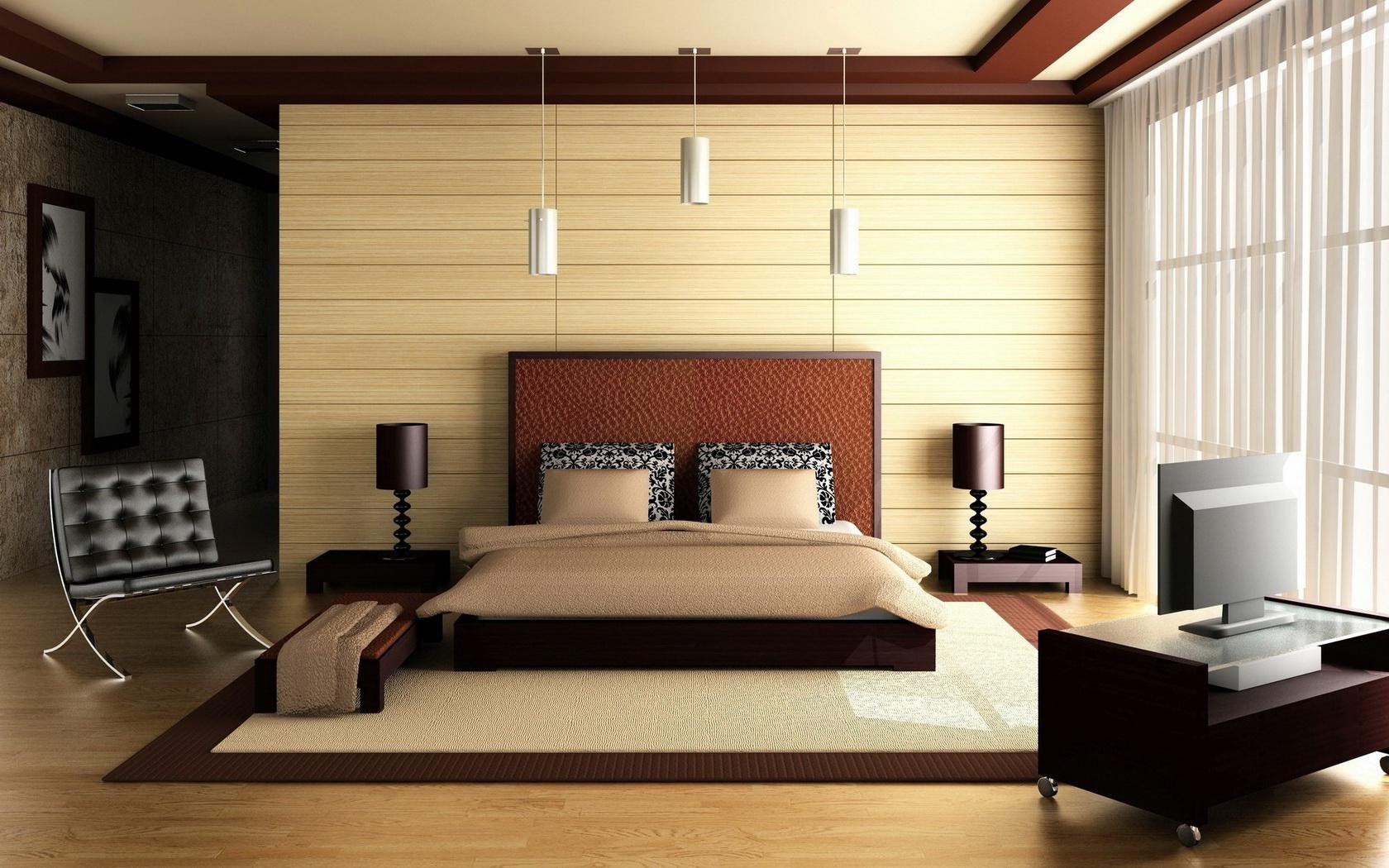 HD Bedroom Bed Architecture Interior Design High ...