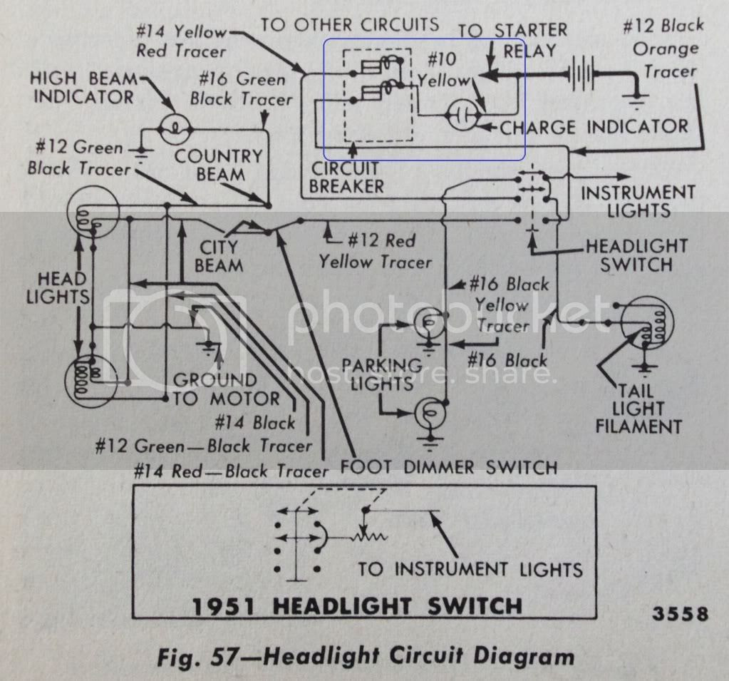 Ford Headlight Switch Wiring
