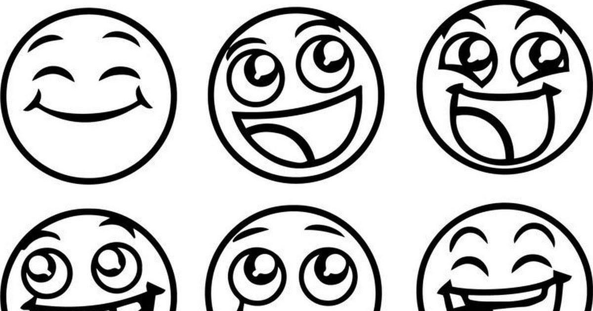 smilies mit brille zum ausmalen  malbilder emojis smileys