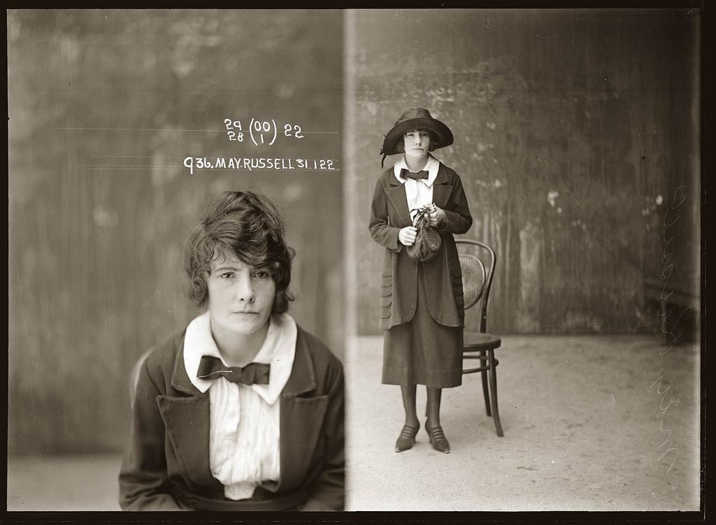 photo police sydney australie mugshot 1920 38 Portraits de criminels australiens dans les années 1920  photo photographie histoire featured art