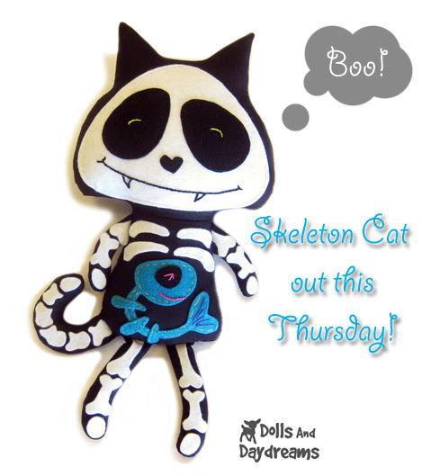 halloween sewing pattern cat copy