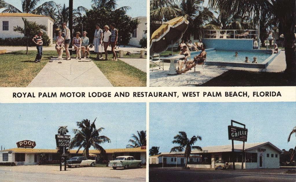 The cardboard america motel archive royal palm motor for Palm beach electric motors