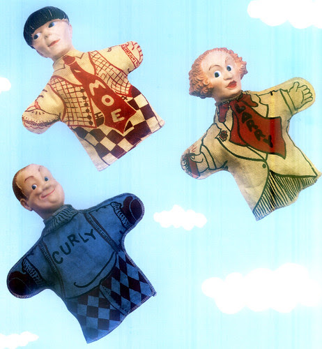 stooges puppets