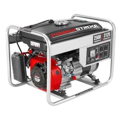 Portable Generator: Powerstroke 2500watt Gasoline Ps902500
