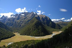 Humboldt Mountains, South Island, New Zealand