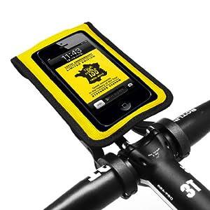 [正規品] 【BM WORKS】 SLIM3 《自転車用 スマートフォン ホルダー》 iPhone 5・4S・4・3GS, Galaxy S3・S2・S・NOTE・NOTE 2 マルチケース (黄(限定版), M)
