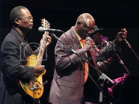 Orchestra Baobab at Harbourfront: photo by Michael Ligon