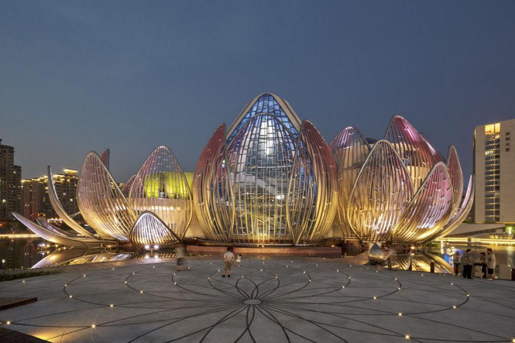 O edifício em forma de flor lótus em Wujin, na China 07