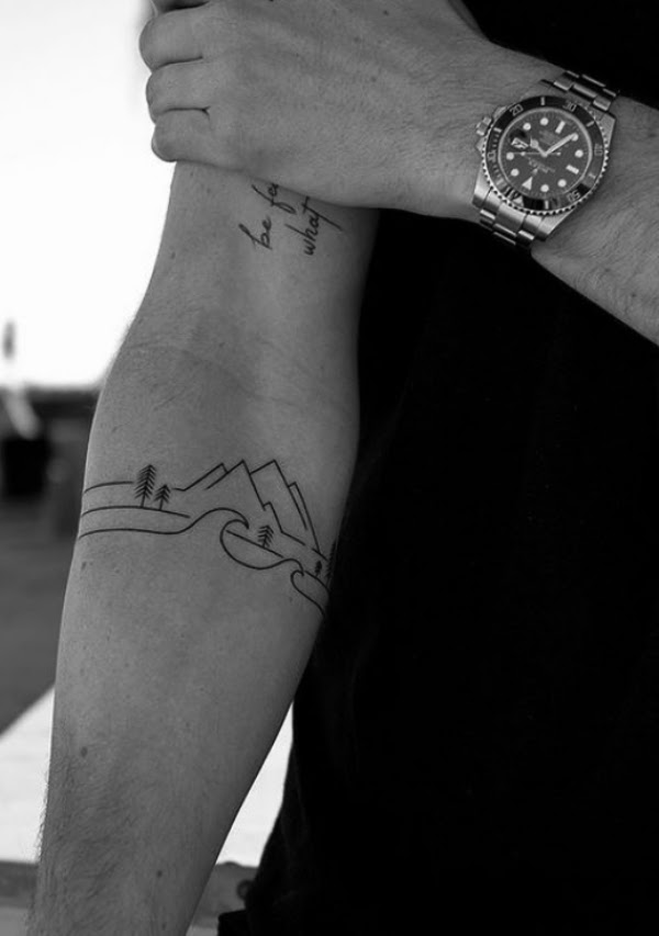 55 Small Tattoo Designs for Men with Deep Meanings
