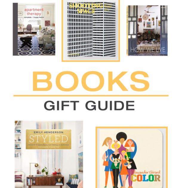 2015 Gift Guide Books Dcoration De La Maison