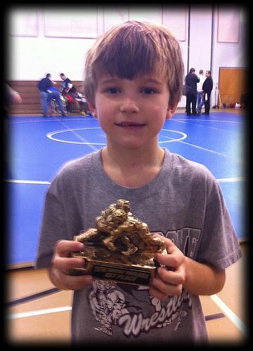 Michael wins 1st place