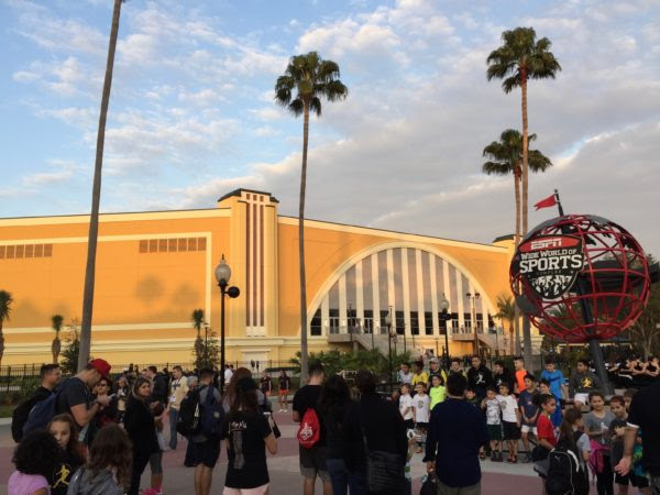 The Opening Of The Arena At Espn Wide World Of Sports Complex