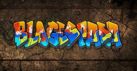 mudah membuat graffiti keren secara  espada blog