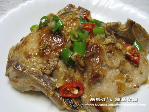 香茅豬扒 Pork Chops with Lemongrass