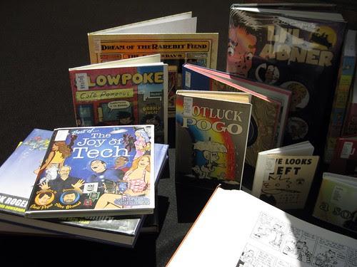 Comic Strip Mini-Exhibit at AAEL