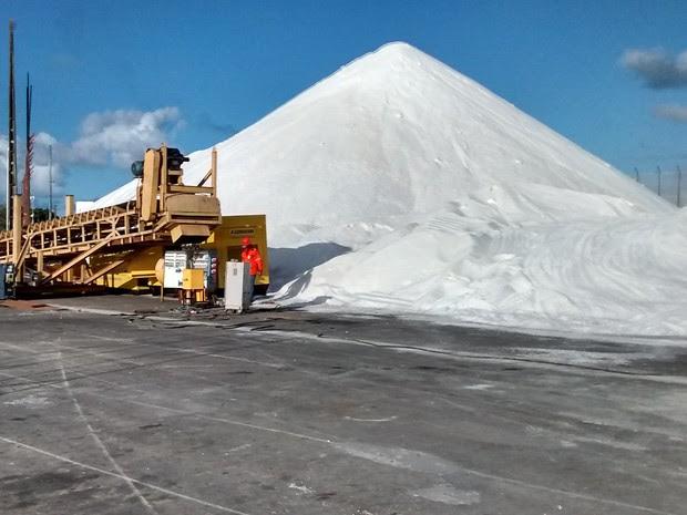 Porto de Natal registrou aumento de 24% na movimentação de cargas (Foto: Divulgação/Codern)