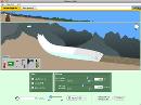 Screenshot of the simulation Παγετώνες