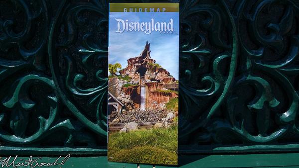 Disneyland Resort, Disneyland, Guide Map