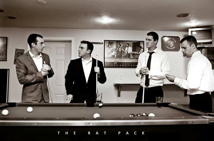 My Friends And I Recreated The Rat Pack Pics