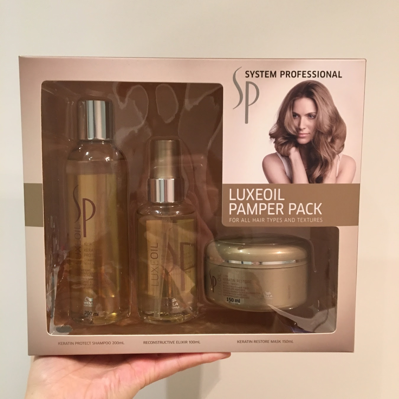 System Professional Luxeoil Pamper Pack  Bellyrubz Beauty